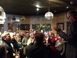 Nick Cohen addresses the Normblog Remembered meeting